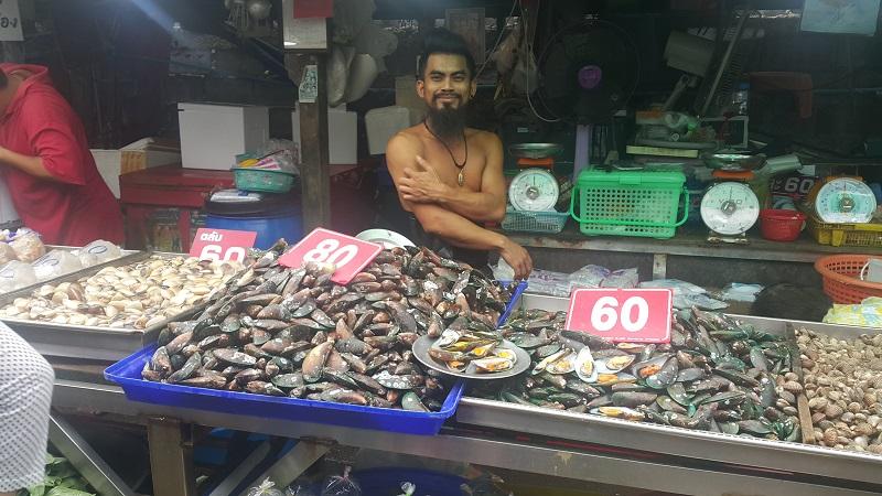 Naklua Fish Market Character