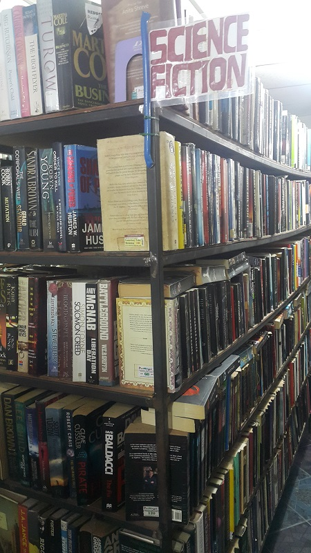 Science Fiction Books at Canterbury Tales