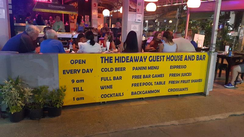 hideaway guesthouse pattaya thailand