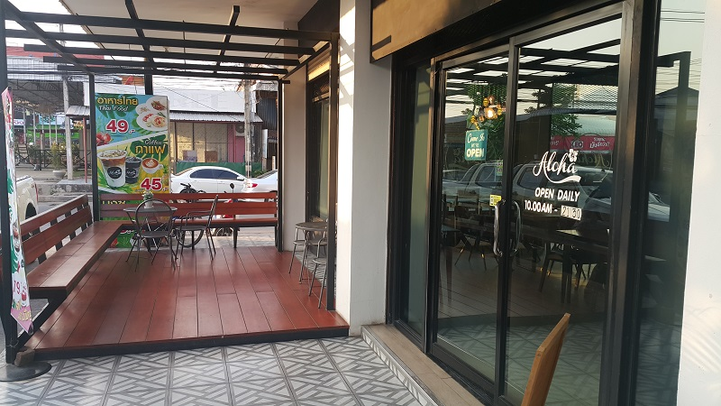 Aloha Cafe Front View