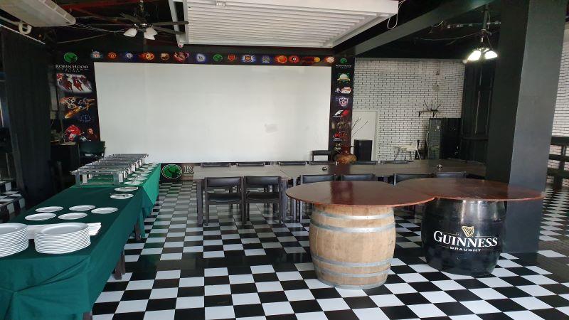 Function Room at The Robin Hood Tavern, Pattaya.