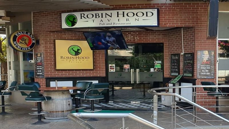 The Robin Hood Tavern, Pattaya, Thailand