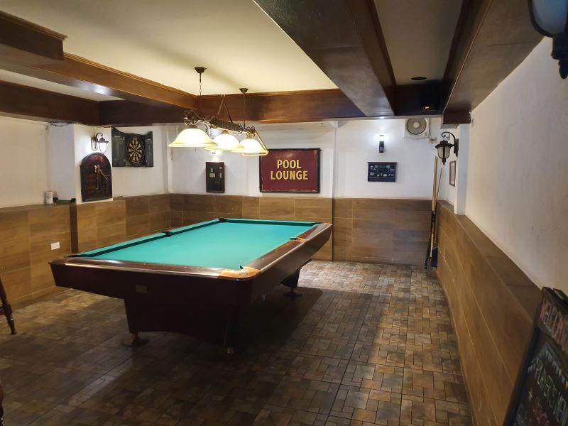 Pool and Darts