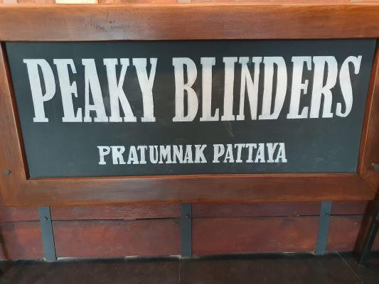 Peaky Blinders Pratumnak Pattaya