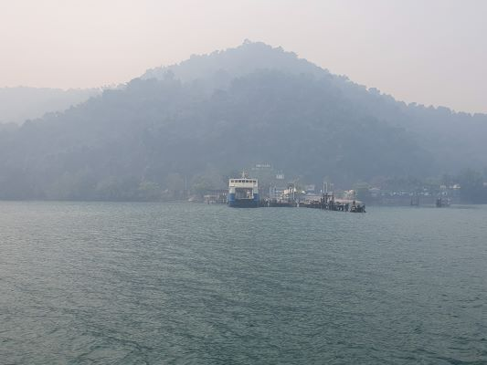 Ferry at Koh Chang